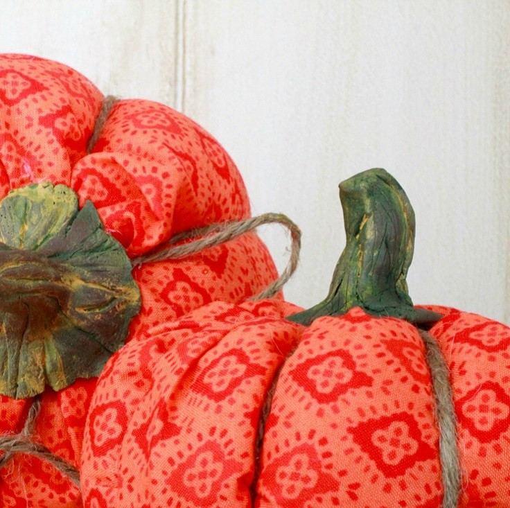 ideas calabaza falsa manualidades decoracion otono preciosa