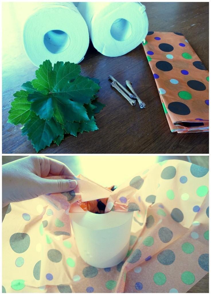 ideas calabaza falsa manualidades decoracion otono papel colores moderna