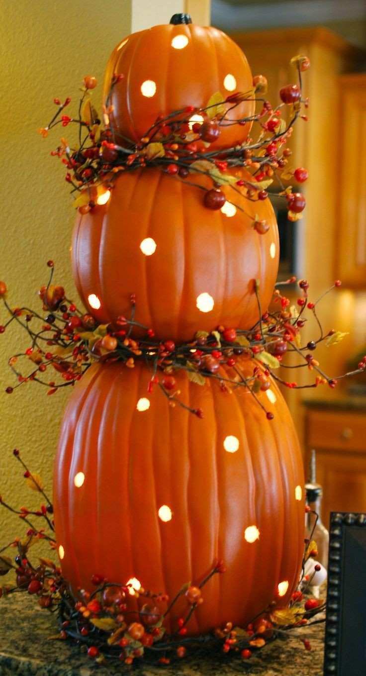 Ideas calabaza falsa para decorar la casa en oto o for Ideas para decorar la casa en otono
