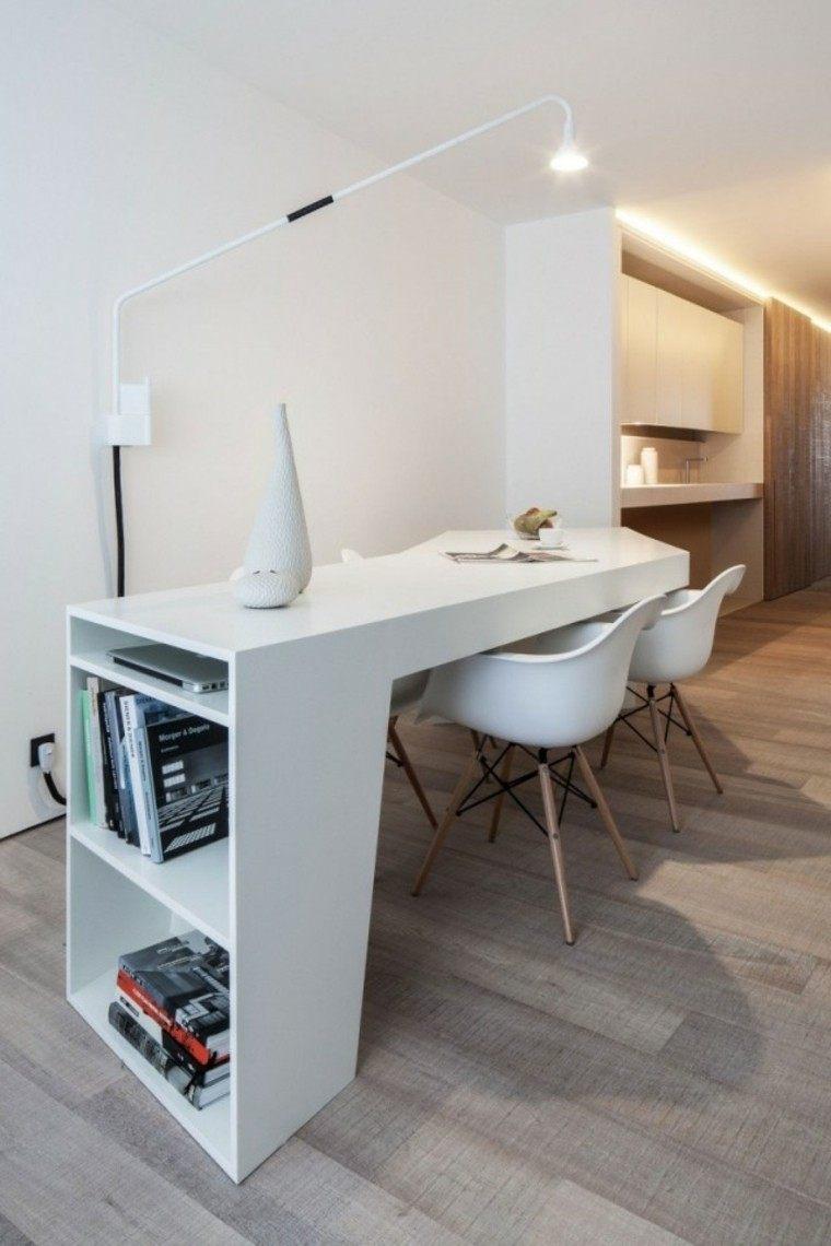 ideas decorado elegante diseño blanco