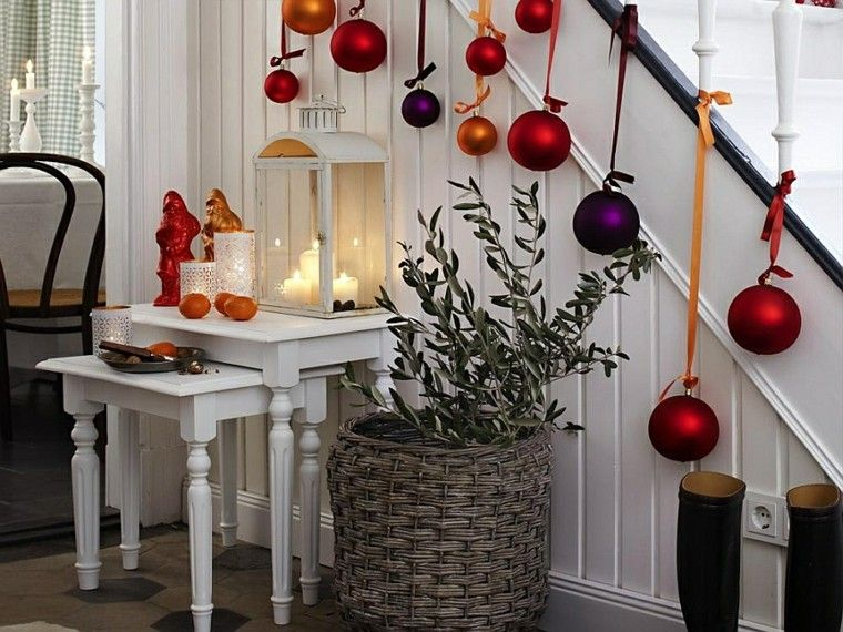Ideas para decorar escaleras 75 propuestas para navidad How to accessorise your home