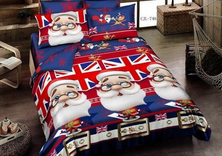 ingles detalles cama bandera cestos