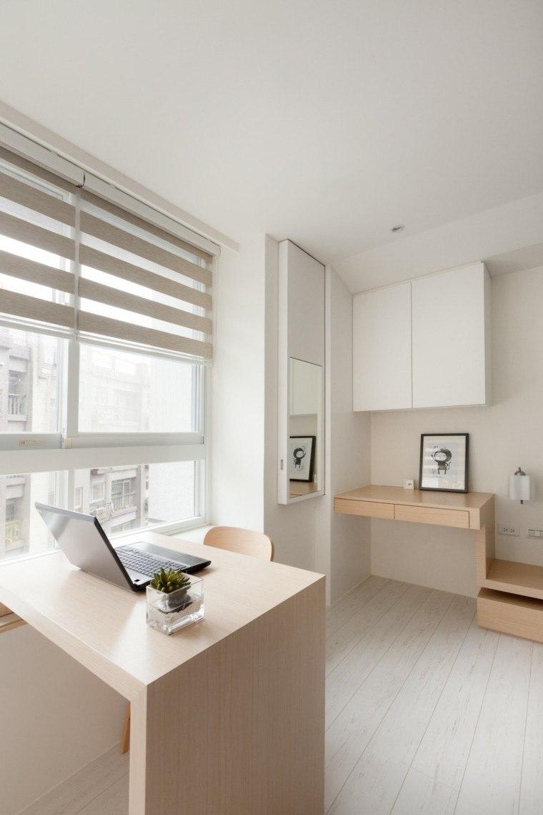 interiores madera fresco planta minimalista