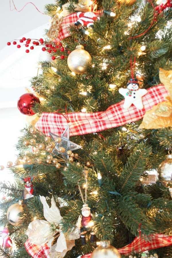 lazo decorativo arbol navidad
