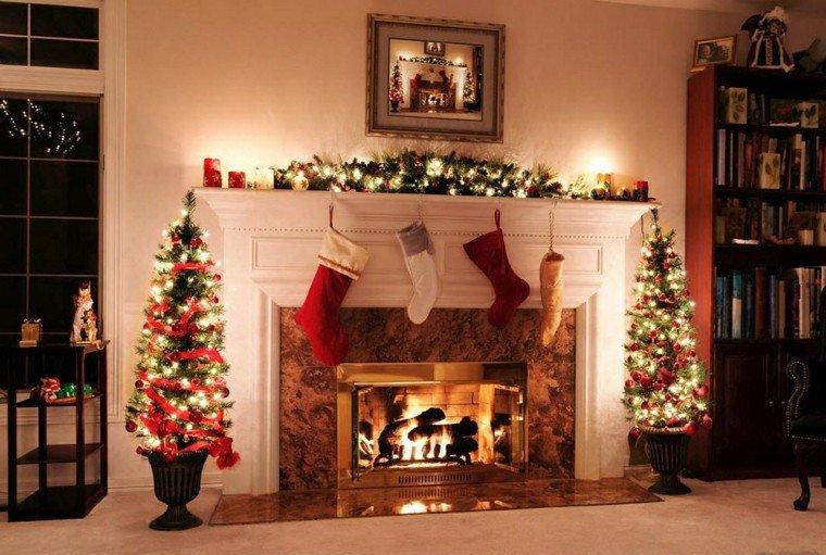 luces de navidad ideas estilo arboles medias