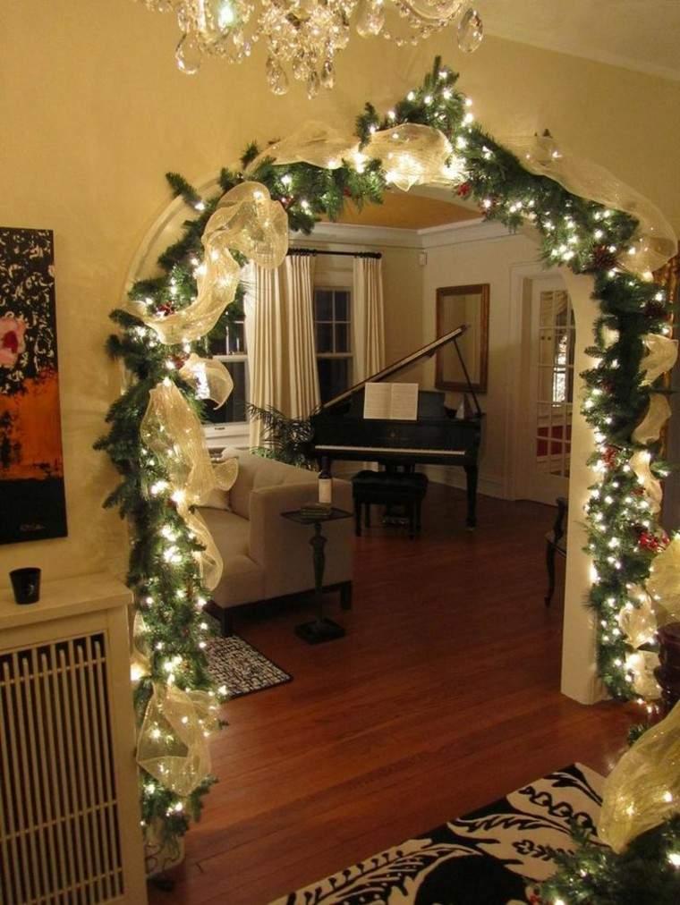 luces de navidad ideas estilo guirnaldas lamparas