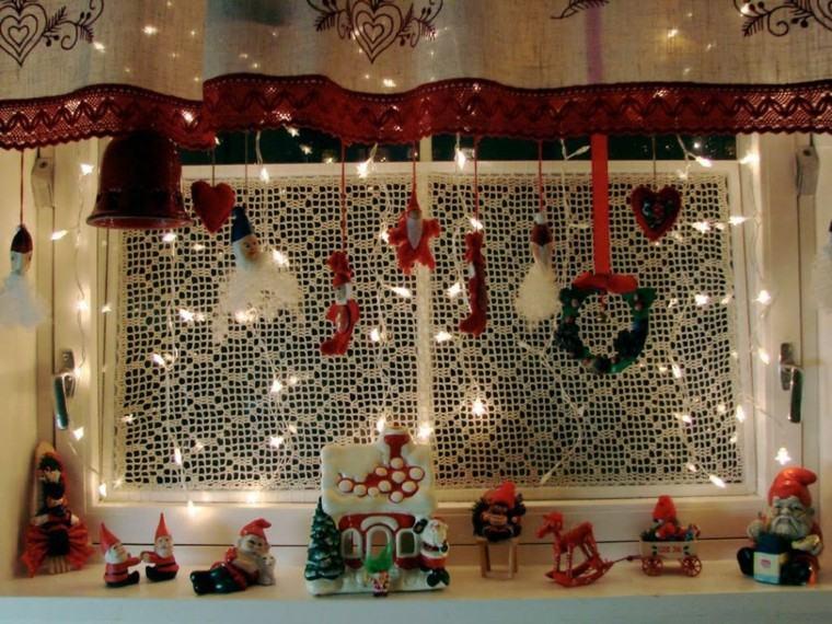 luces de navidad ideas estilo ramas enanos casas