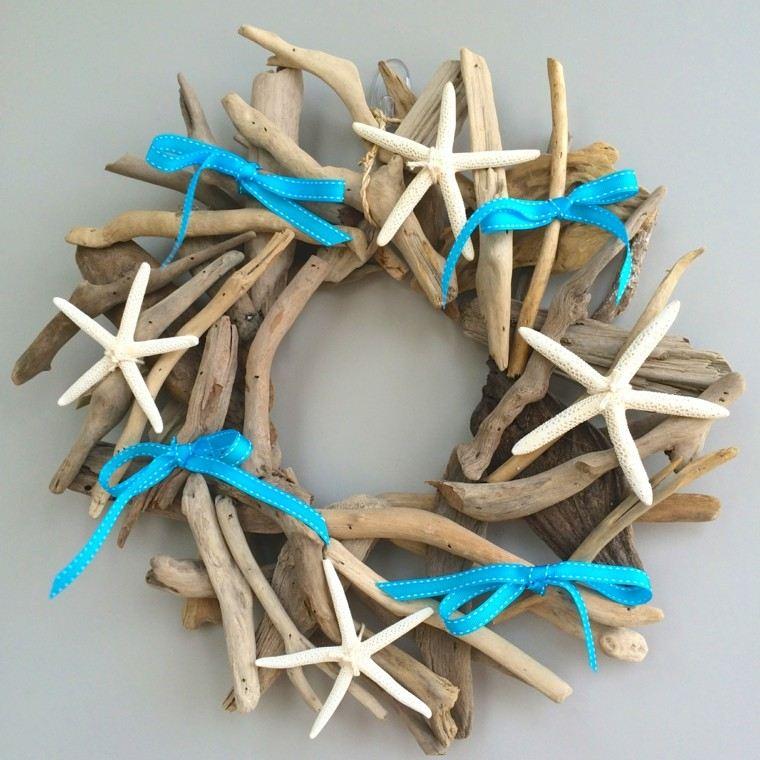 madera azules lazos marino deriva
