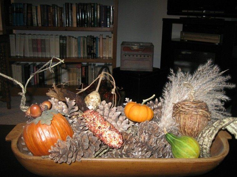madera centro mesa libros ramas