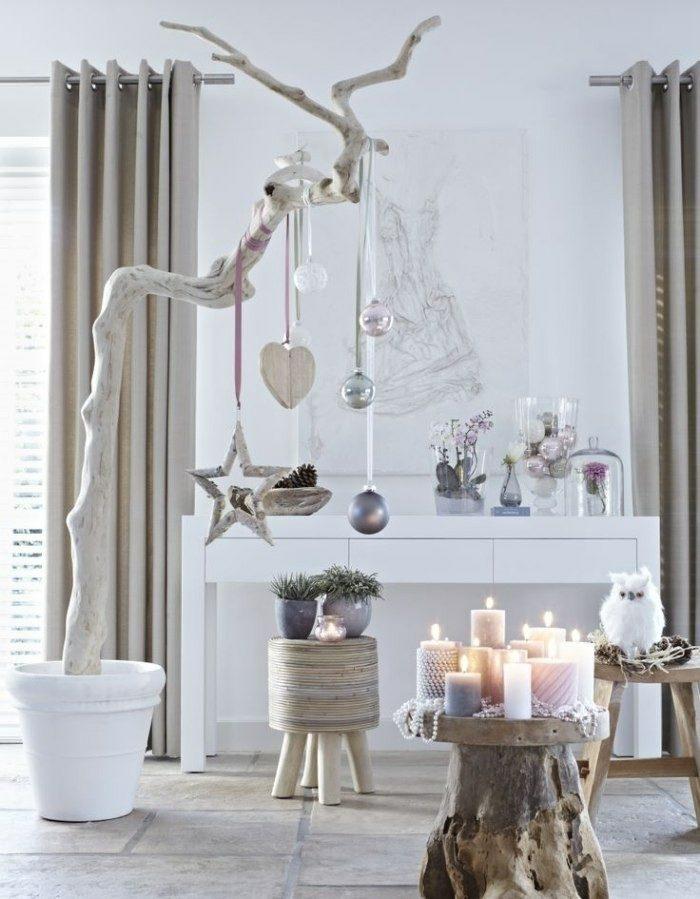 madera deriva decoracion navidad