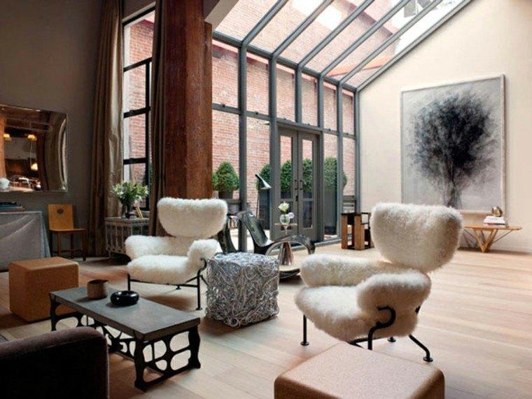 madera salon amplio detalles moderno