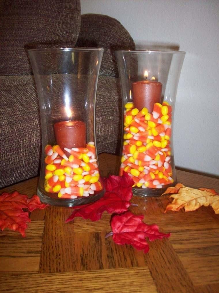 maiz velas elegante salon tradicional