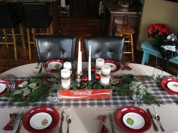 mantel cuadros decorar mesa