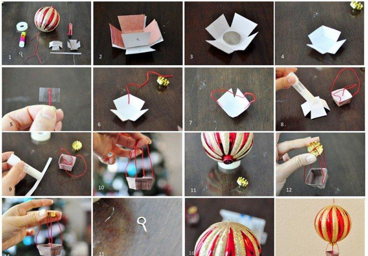 Manualidades de navidad ideas de adornos preciosas for Adornos navidenos origami paso a paso