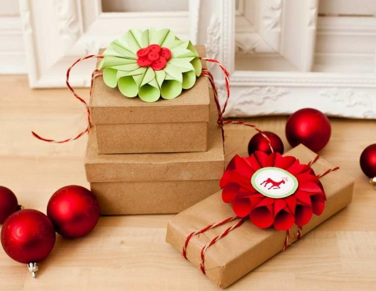 de navidad ideas decoracion regalos papel invierno