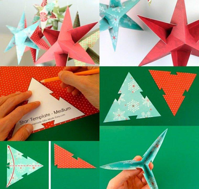 Manualidades los angeles - Manualidades de estrellas de navidad ...