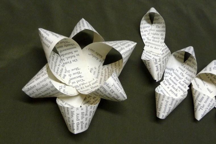 Manualidades navide as decoraci n original para el hogar - Manualidades con papel navidenas ...