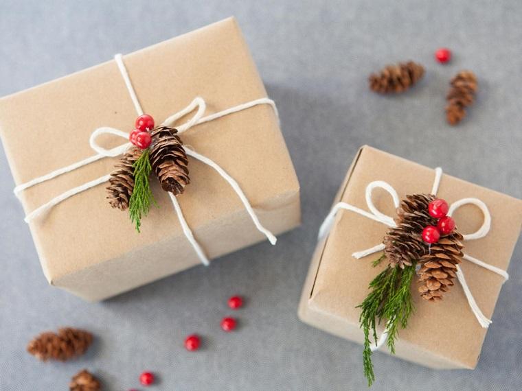 manualidades navidenas decoracion hecha casa pinas regalos ideas