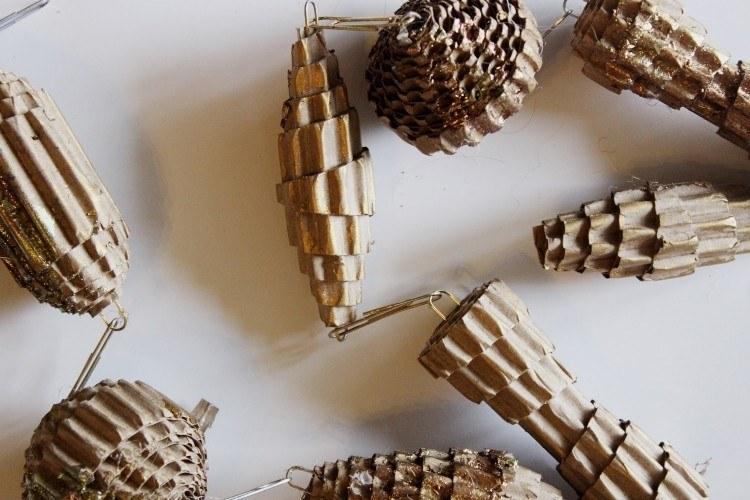 Manualidades reciclaje y decoraci n navide a creativa - Manualidades en reciclaje de carton ...