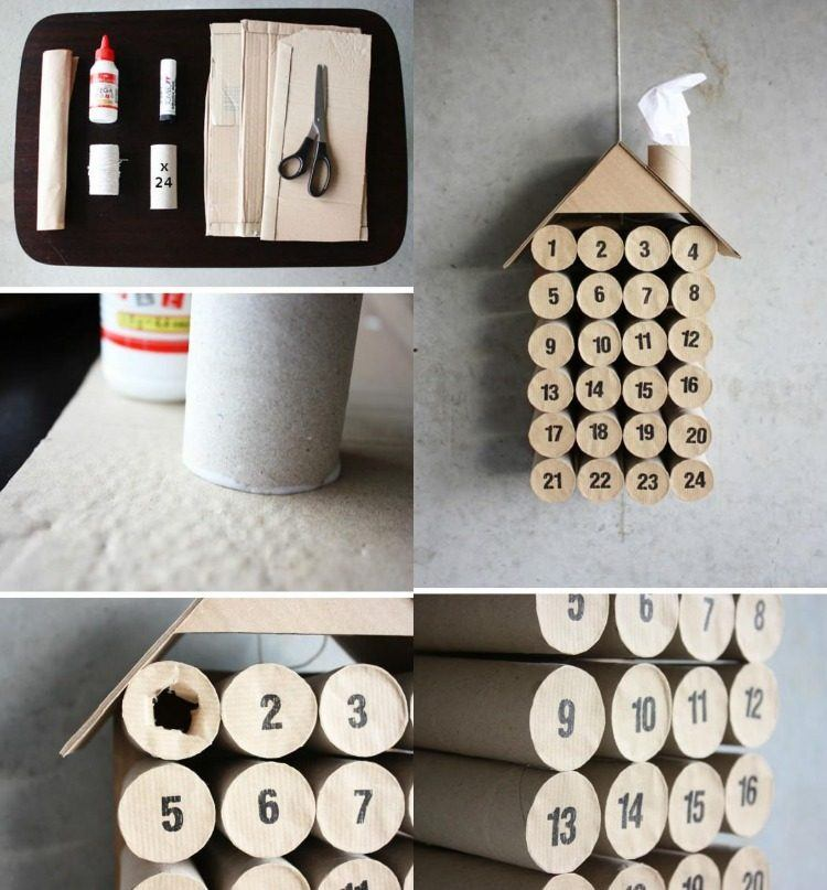 manualidades reciclaje detalles diseño cartones tijeras