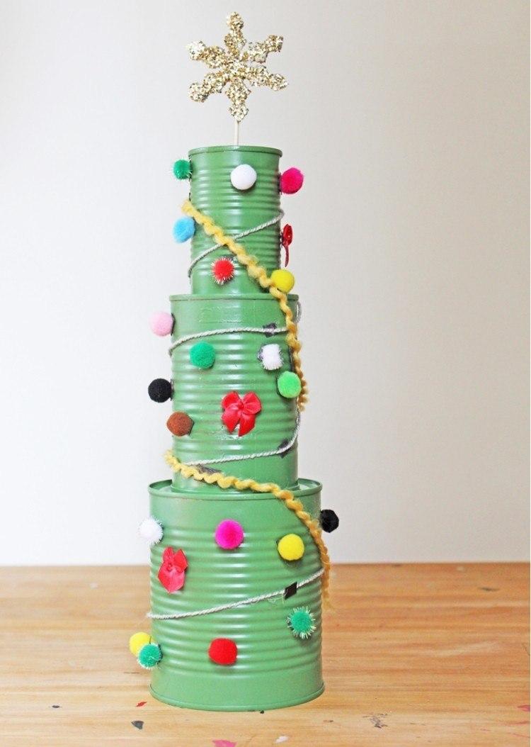 manualidades reciclaje detalles diseño latas colorido