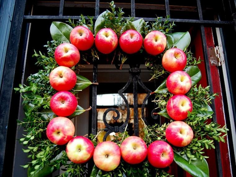 manzana decoracion estilo detalles exteriores