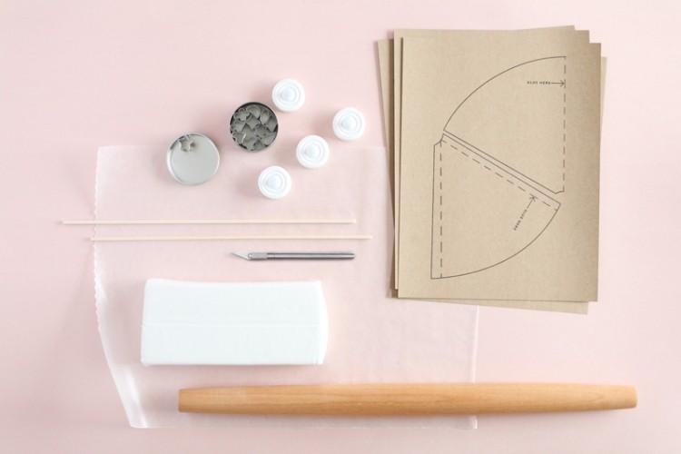 materiales piezas decorativas manualidades pasos