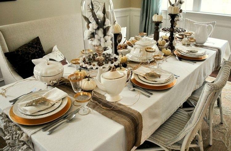 Cena de navidad cincuenta ideas para decorar la mesa - Mesas de navidad originales ...
