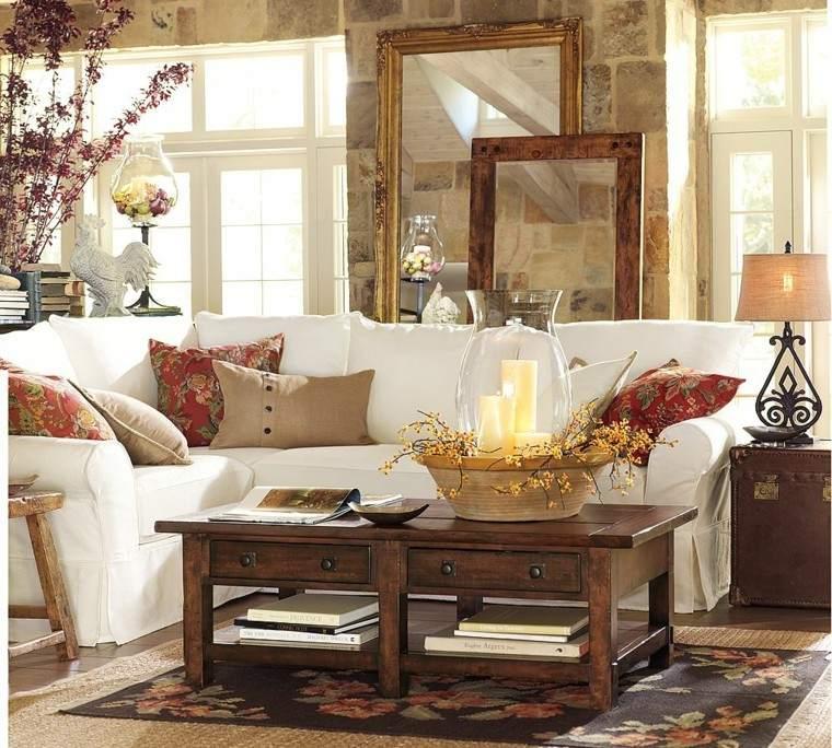 naturaleza mesa centro calido creativo sofa