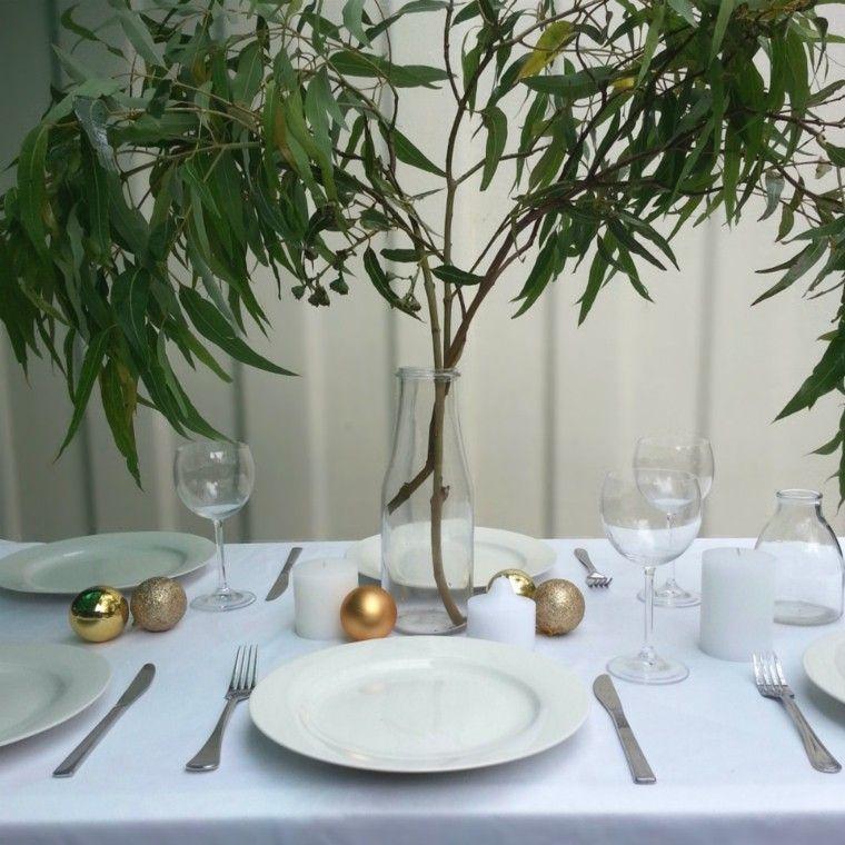 mesa diseño decoracion dorado centro