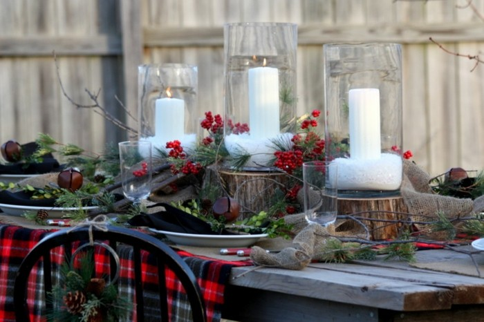 mesa jardin mantel cuadros