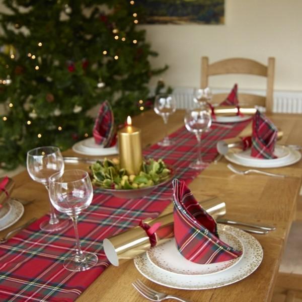 mesa navidad bonita conjunto deco