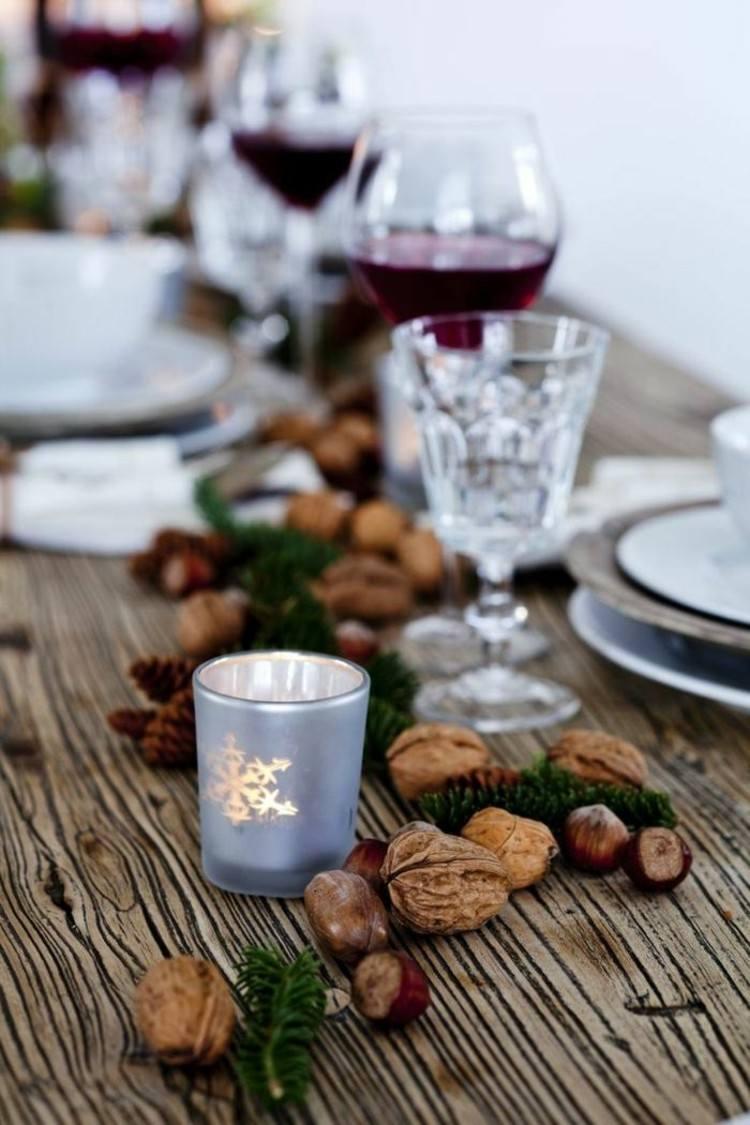 mesas de comedor diseño colorido semillas secas