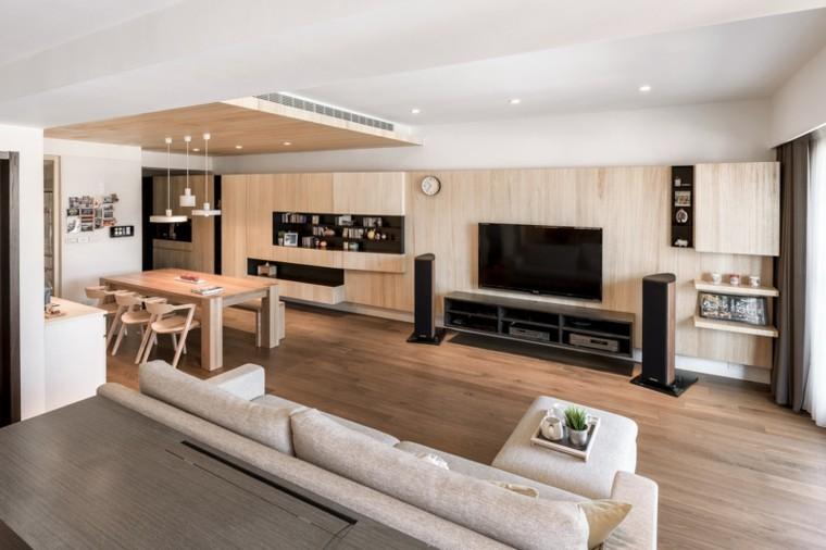 minimalista moderno apartamento estilo plantas