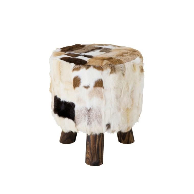 mobiliario ideas creativas cabra cuero