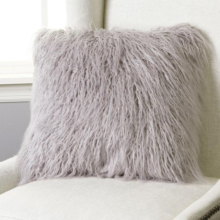 mobiliario ideas creativas invierno cojines sofa