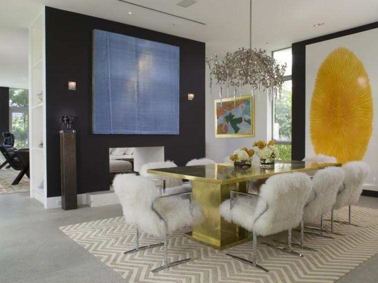 mobiliario ideas creativas invierno comedor cuadro