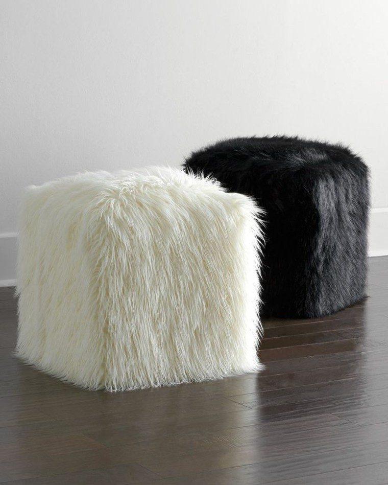 mobiliario ideas creativas invierno cuadros taburetes