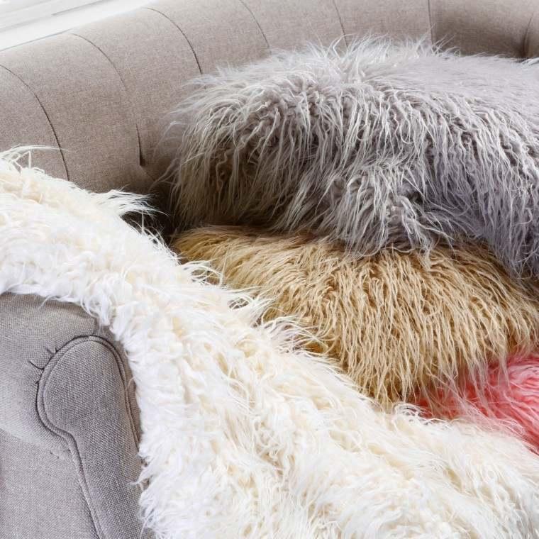 mobiliario ideas creativas invierno cubiertas sofa
