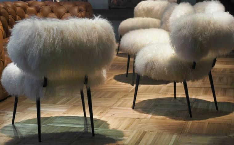 mobiliario ideas creativas invierno sillon mueble