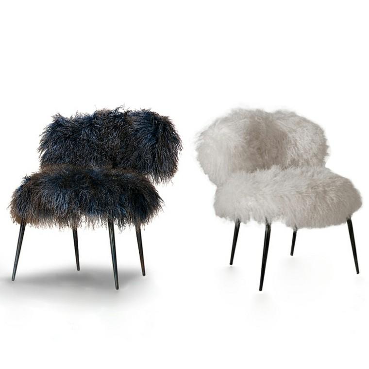 mobiliario ideas creativas sillas detalles blanco