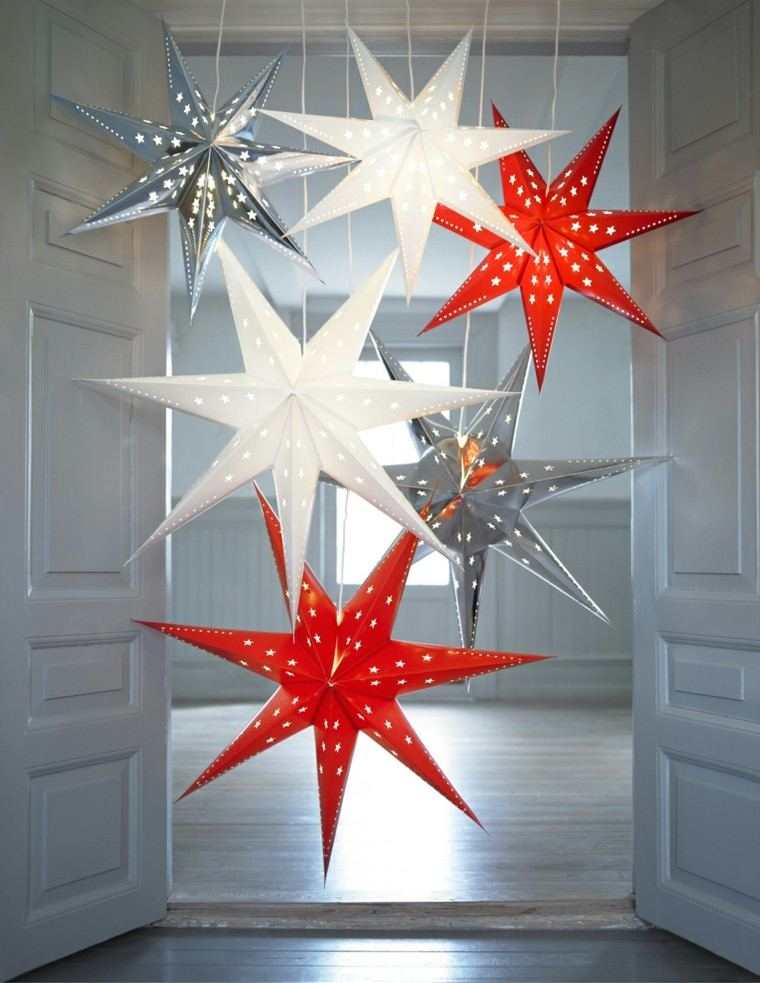 colorido estrellas navidad decoracion