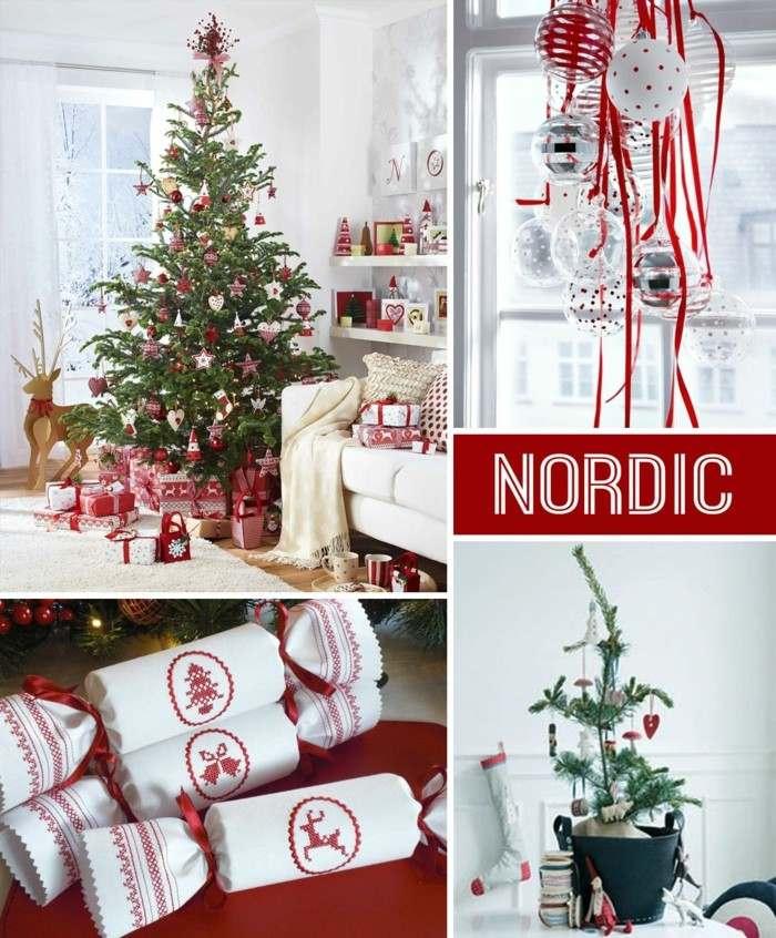 motivos nordicos deco navidad
