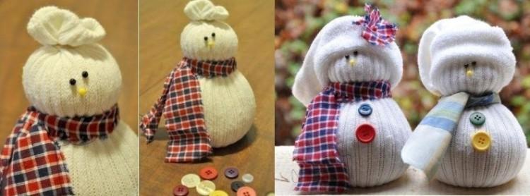 muñecos bufanda cuadros estilo botones