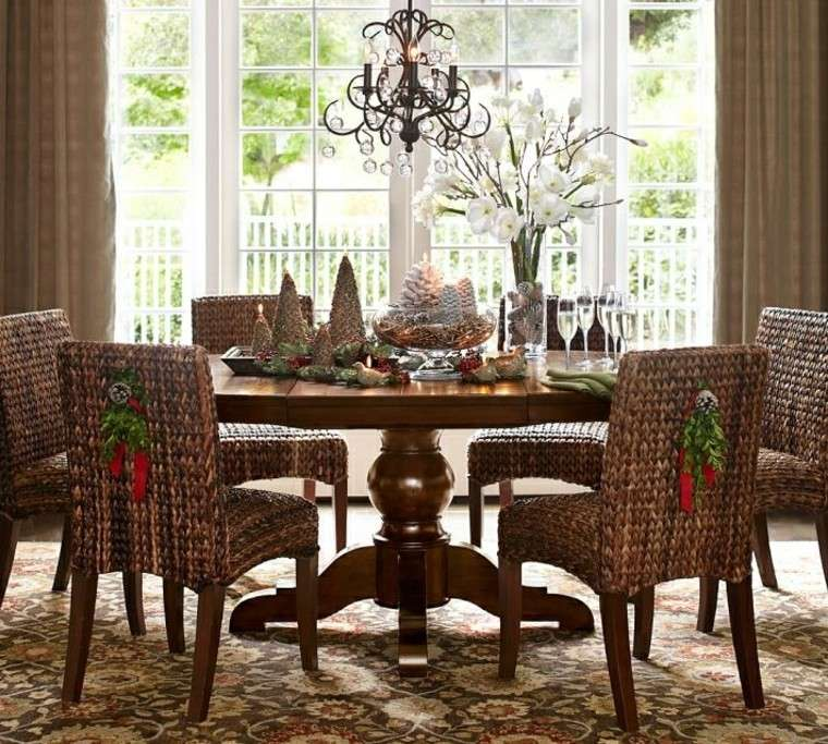muebles decoracion plantas flores elegante