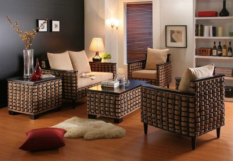 muebles originales interior exterior casa salon moderno ideas