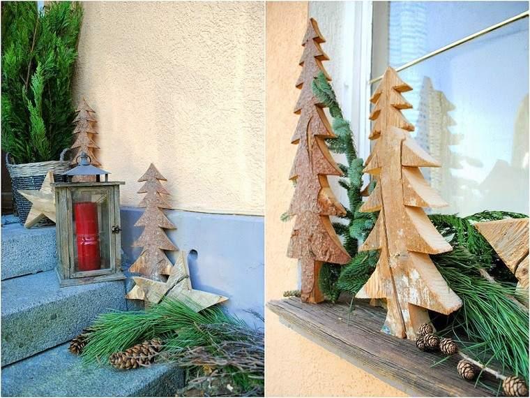 natural decoracion invierno arboles navidad originales ideas