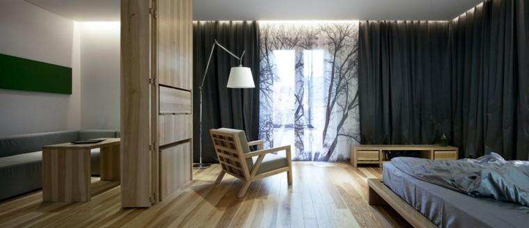 natural estantes decorado habitacion diseño