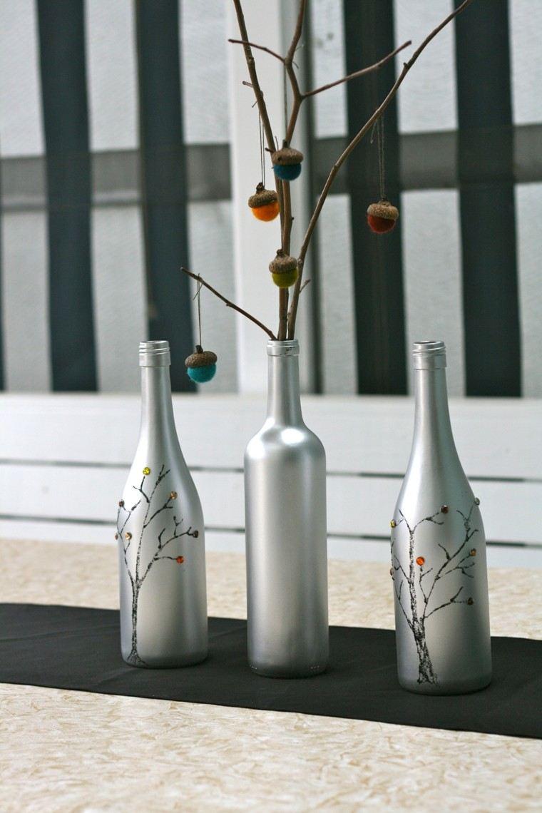 naturaleza centro mesa botellas pintura