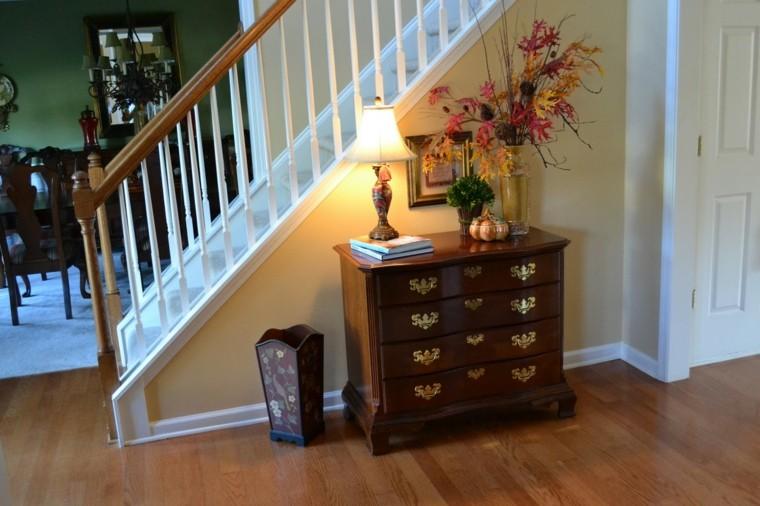 naturaleza centro mesa escaleras madera